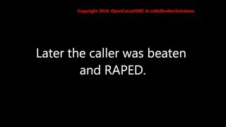911 tape: No police available when woman calls 911….she ends up raped