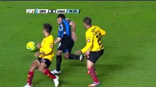 Gambar cover ¡Ole! Caño de Sinha a Telles | Querétaro 1-0 U de G J2 Torneo Clausura 2015 Liga MX (16/01/15)
