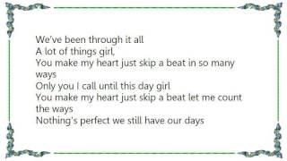 Charlie Wilson - Thru It All Lyrics