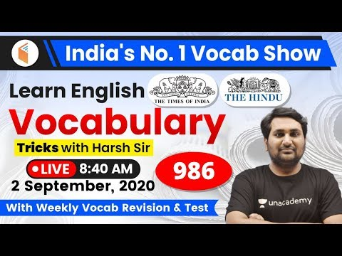 8:40 AM - English Vocabulary | Learn English Vocabulary Tricks | Day #986