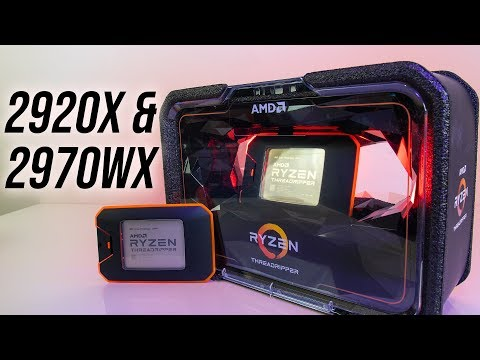AMD Threadripper 2920X and 2970WX CPU Review and Benchmarks