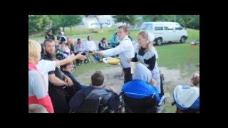 Заключний ролік з табору в Олександрії (біля Рівне) для людей з обмеженнимим можливостями 2014