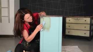 Quick Tips: Applying Annie Sloan Dark Soft Wax