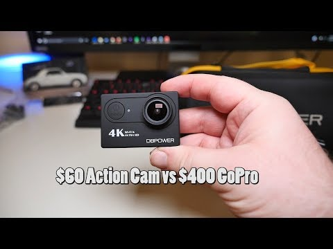 $60 Action Camera vs $400 GoPro? DBPower Action Cam REVIEW