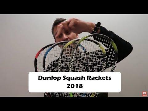 Dunlop Squash Rackets 2018 Roundup