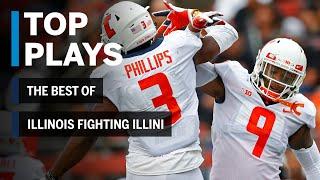 The Best of Illinois Fighting Illini: 2018 Mid-Season Highlights | Big Ten Football