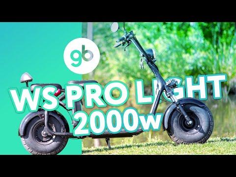 Электроскутер Citycoco WS Pro Light 2000w