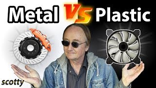 Why Plastic Car Parts are Stupid (Metal vs Plastic Parts)