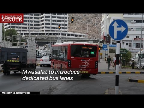 Mwasalat to introduce dedicated bus lanes