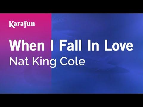 Karaoke When I Fall In Love - Nat King Cole *