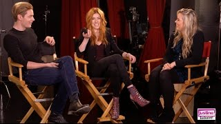 """Justine Magazine: """"Shadowhunters"""" Fun Cast Challenge With Kat, Dom, Harry & Isaiah"""