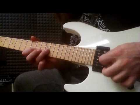 Roberto Vanni: C Dorian String-Skipping Sequence With Hybrid Picking
