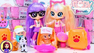 BFF Bestie Girls babysit Baby Secrets Blind Bathtubs Reveal