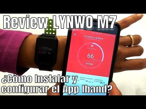 Conoce cómo funciona el LYNWO M7 con el App IBAND - Banggood.com