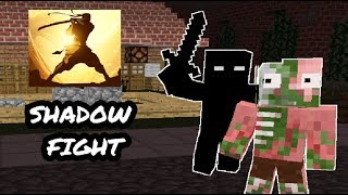 Monster School: Shadow Fight CHALLENGE - Minecraft Animation