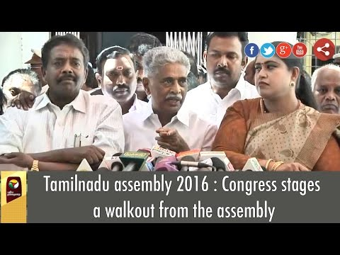 Tamilnadu-assembly-2016--Congress-stages-a-walkout-from-the-assembly