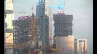 Moscow Federation Tower Time Lapse
