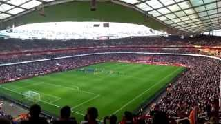 preview picture of video 'Arsenal FC vs Manchester City 28.3.2014 live'