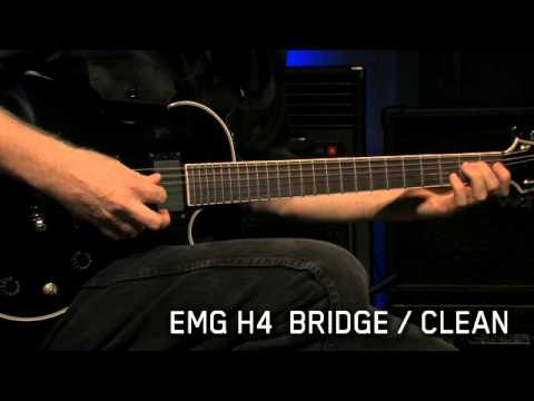 more videos  the h4 is emg's best selling passive humbucker for guitar