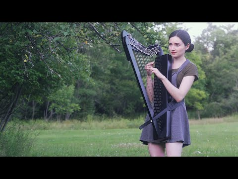 The Sound of Silence - a Heartfelt Harp Cover of the Classic