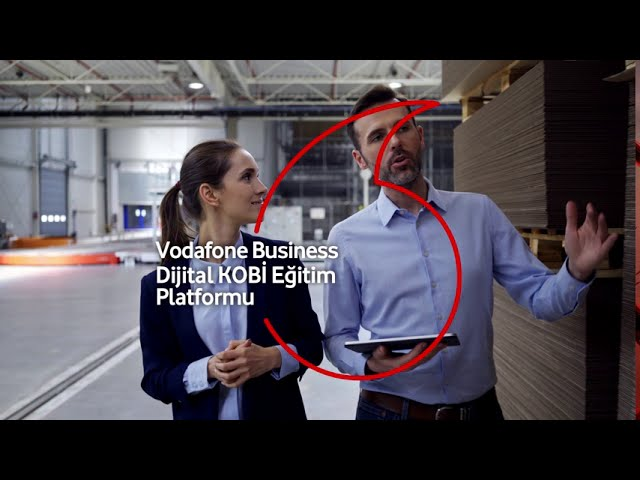 Dijital KOBİ Eğitim Platformu Vodafone Business'ta!