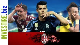 Calciomercato Milan: Da dove arrivano i soldi?