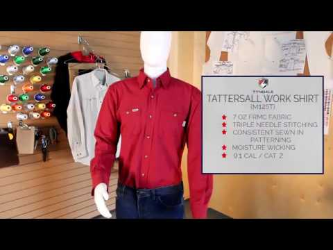 Tattersal work shirt M125T