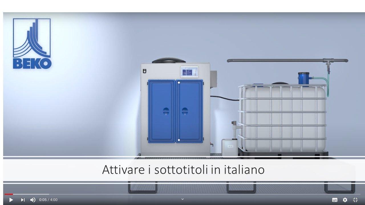 Sistema di trattamento delle condense emulsionate BEKO