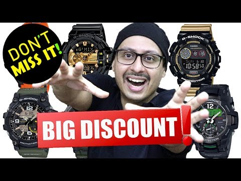 G SHOCK Sale | How you can get Big Discounts on Casio watches