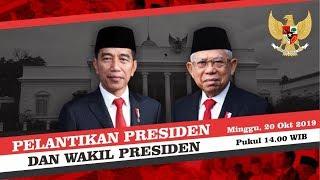 Jadwal Jokowi-Ma'ruf Dilantik Hari Ini sebagai Presiden dan Wakil Presiden Terpilih