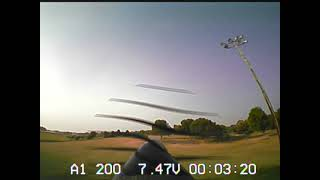 UMX Turbo Timber maiden flight with new FPV system