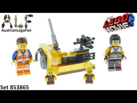 Vidéo LEGO The LEGO Movie 853865 : Ensemble d'accessoires LEGO Movie 2