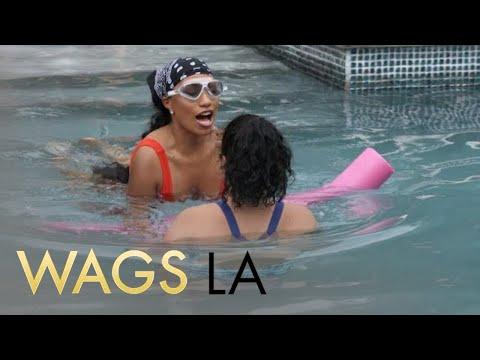WAGS LA | Dominique Penn Learns How to Swim | E!