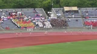 2017近畿IH陸上 女子4×400mリレー決勝 全国争い