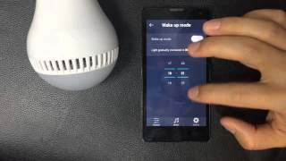 Smart Music Bulb's wake up mode