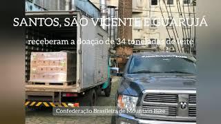 """""""Foram doadas 34 toneladas de Leite"""", destaca o empresário Marcelo Coelho"""