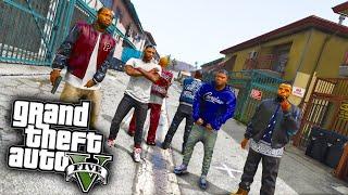 PIRU vs Rollin 60 Crip - GTA 5 Real Hood Life #10