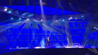 Eurovision Song Contest - Baku 2012 @ Donny Montell - Love is blind  (Semifinal) 720p HDTV