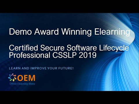 Certified Secure Software Lifecycle Professional CSSLP ... - YouTube