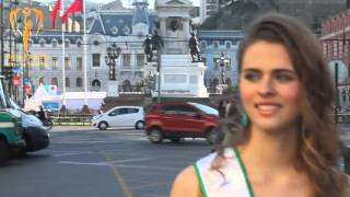 Daniela Ramirez Miss Earth Valparaiso 2015 Introduction Video for Miss Earth Chile 2015