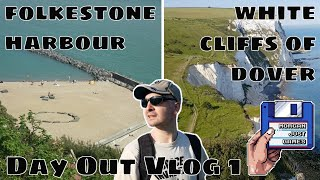 Day Out Vlog 1 - Folkestone Harbour / White Cliffs Of Dover - MJG