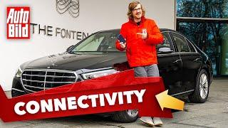 [AUTO BILD] Mercedes S-Klasse (2021) | Wie gut ist der Top-Benz vernetzt?