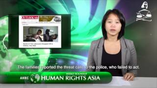 AHRC TV Human Rights Asia Weekly Roundup Episode 11