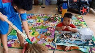 Đồ Chơi Trẻ Em Bé Pin Con Nuôi Con Ruột ❤ PinPin TV ❤