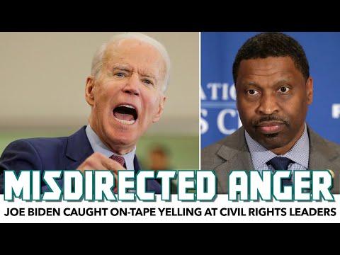 Joe Biden Caught On-Tape Yelling At Civil Rights Leaders