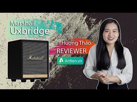 Trên tay Marshall Uxbridge - Chiếc loa cắm điện bé nhất nhà Marshall