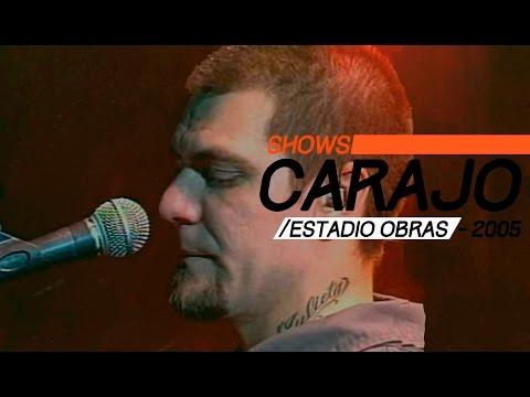 Carajo video Estadio Obras 2005 - Show Completo