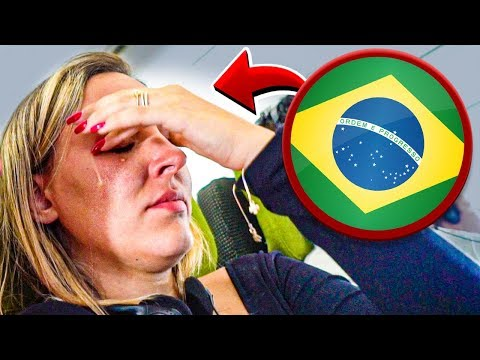 ELA SE EMOCIONOU VOLTANDO PRO BRASIL DEPOIS DE MUITOS ANOS