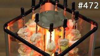 自動でクルクル回る焼き鳥メーカー / Japanese Yakitori Machine