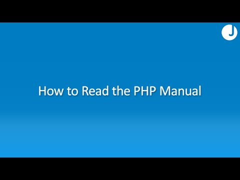 How To Read The PHP Manual Mp3